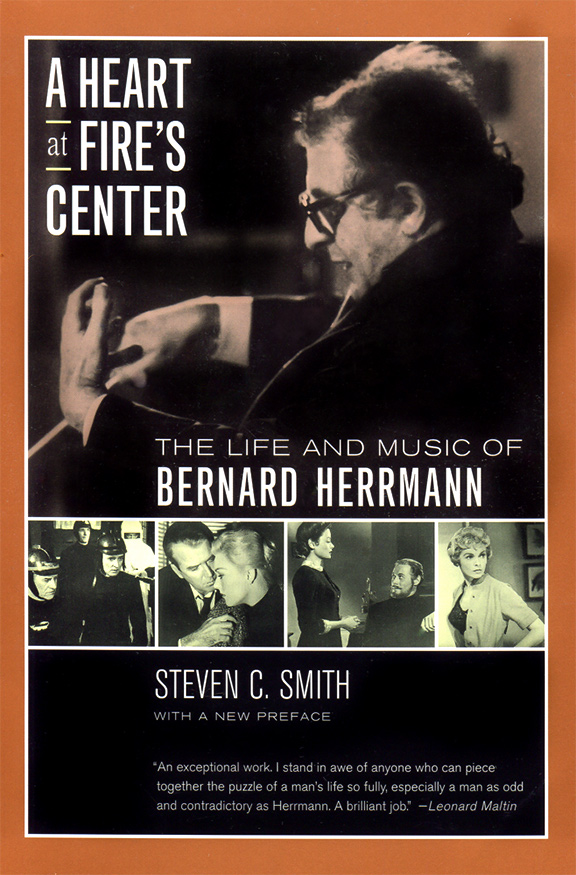 book cover Bernard Herrmann