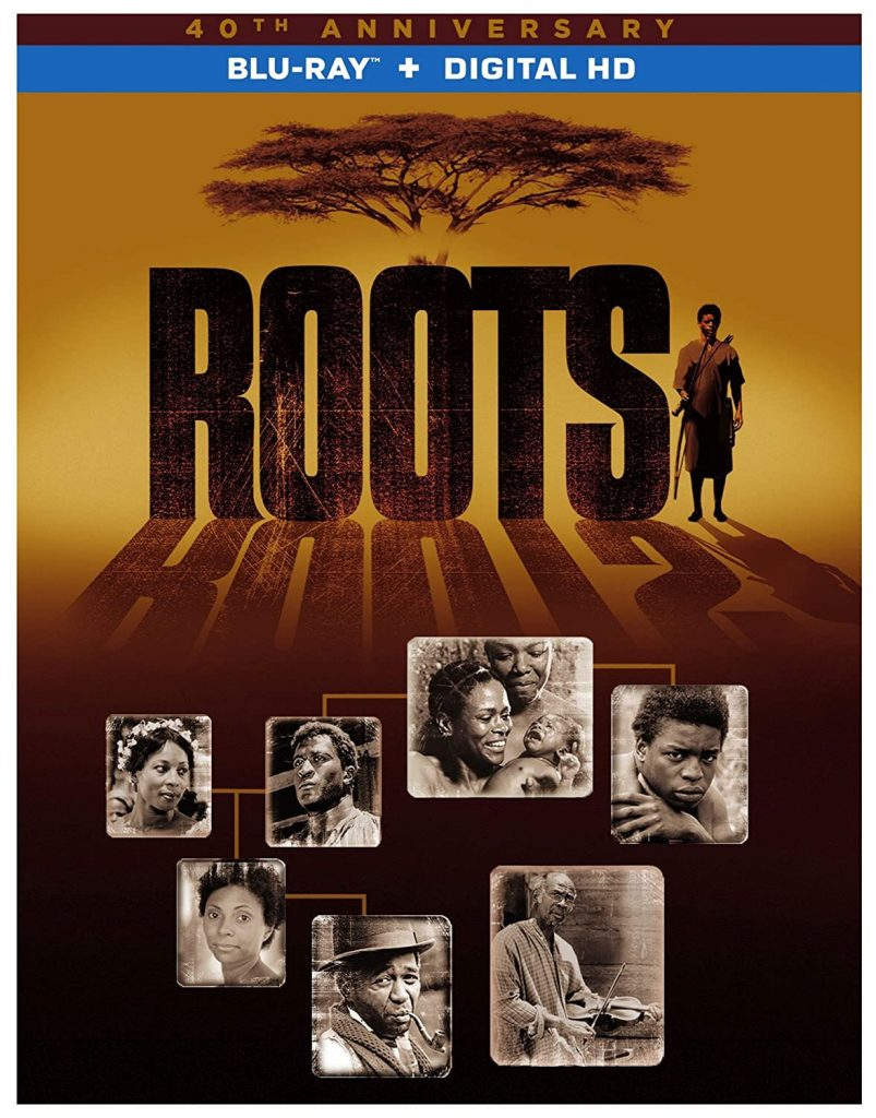 blu-ray dvd cover for Roots 40th Anniversary edition DVD
